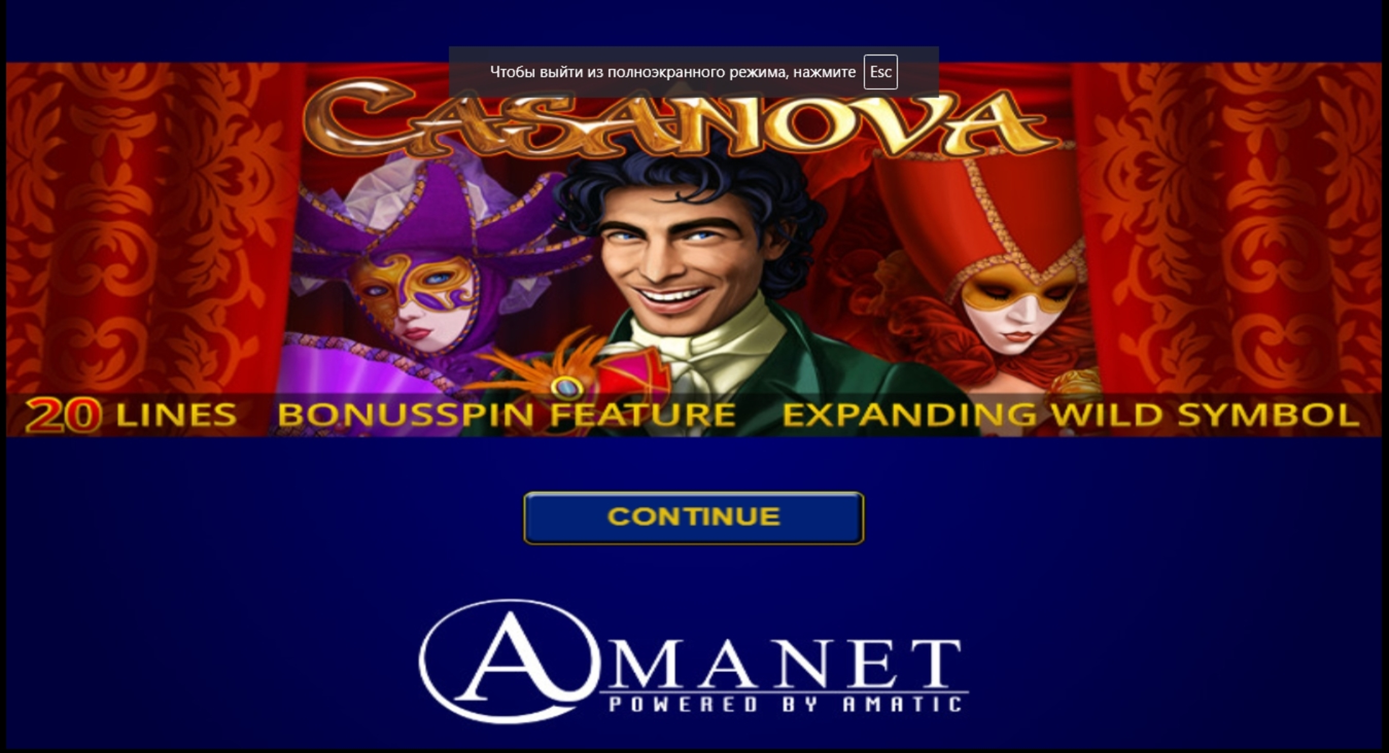 Casanova Online Free
