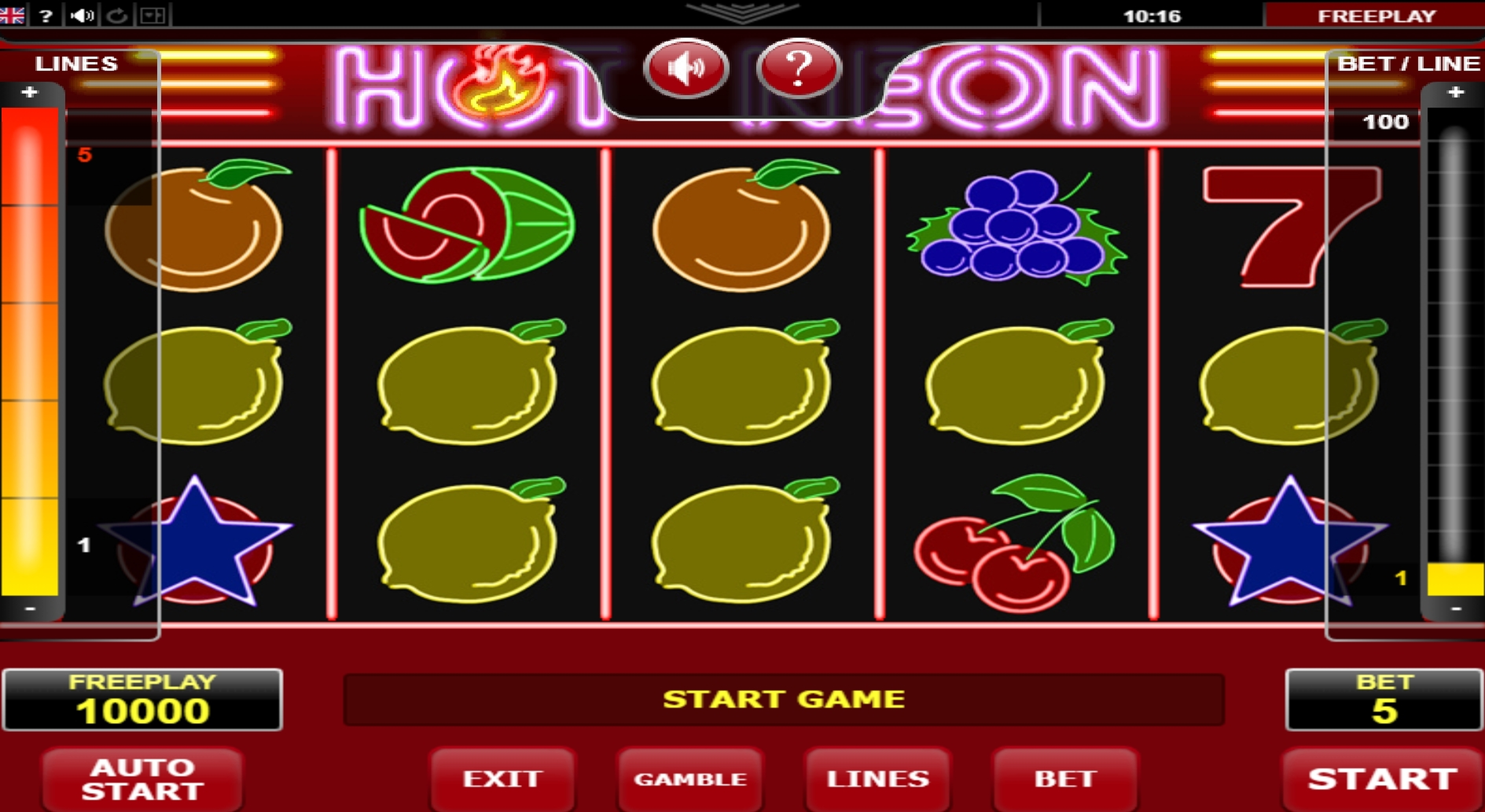 Slot game win