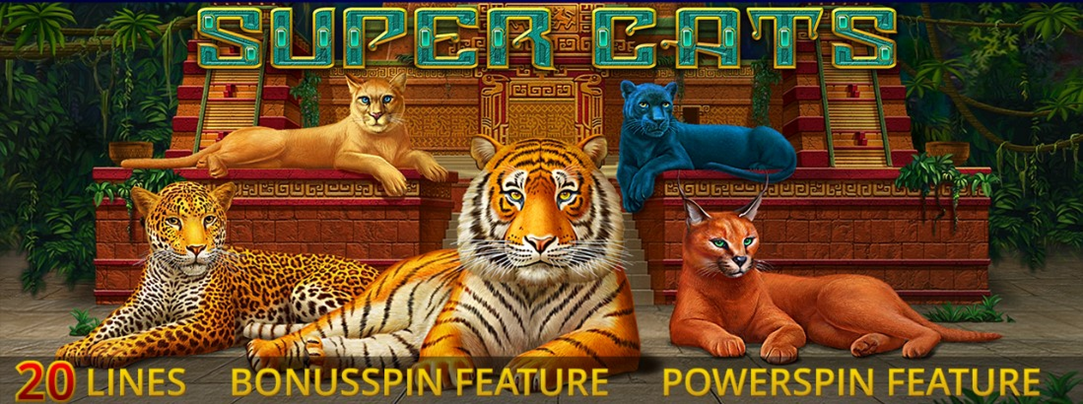 The Super Cats Online Slot Demo Game by Amatic Industries