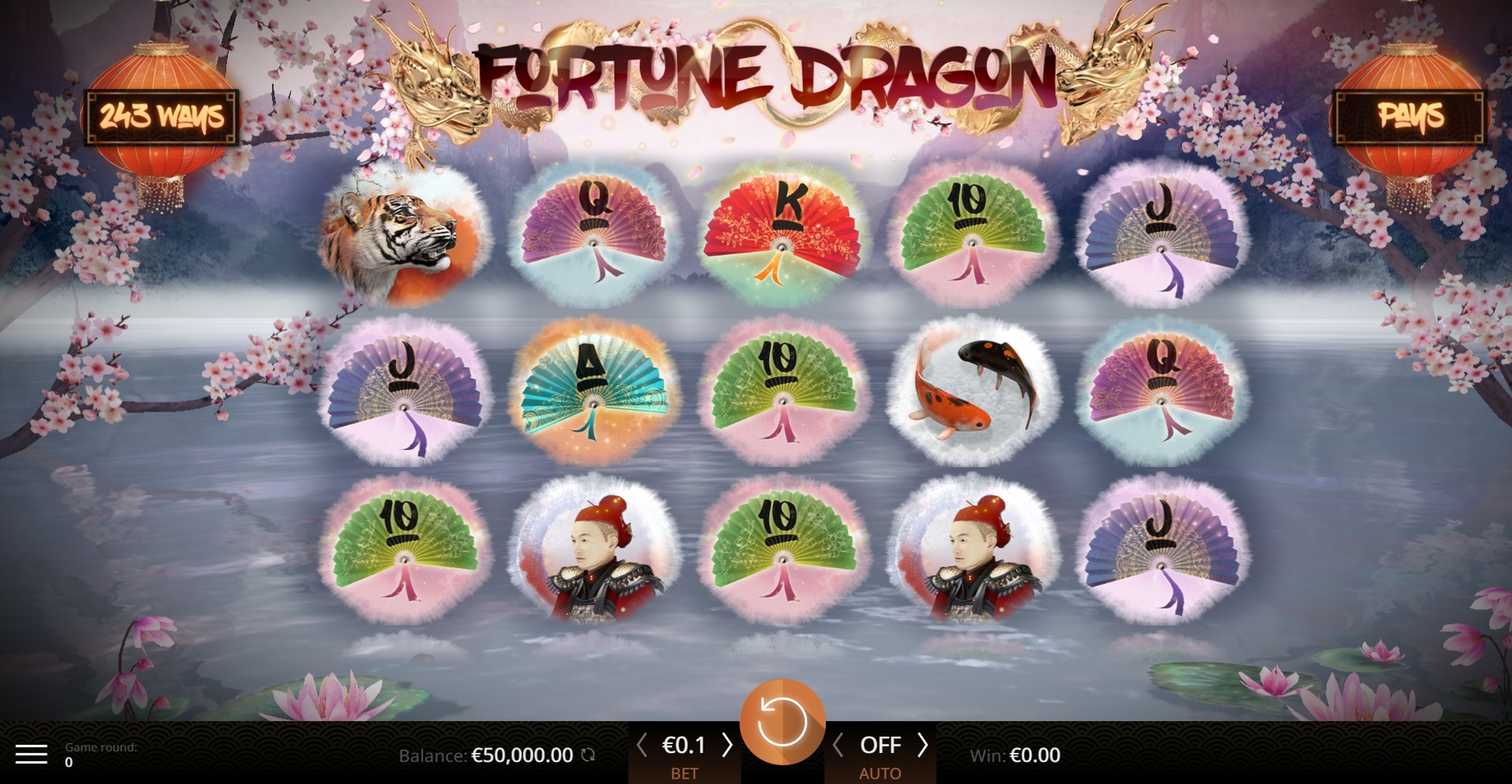 Reels in Fortune Dragon (Amazing Gaming) Slot Game by Amazing Gaming