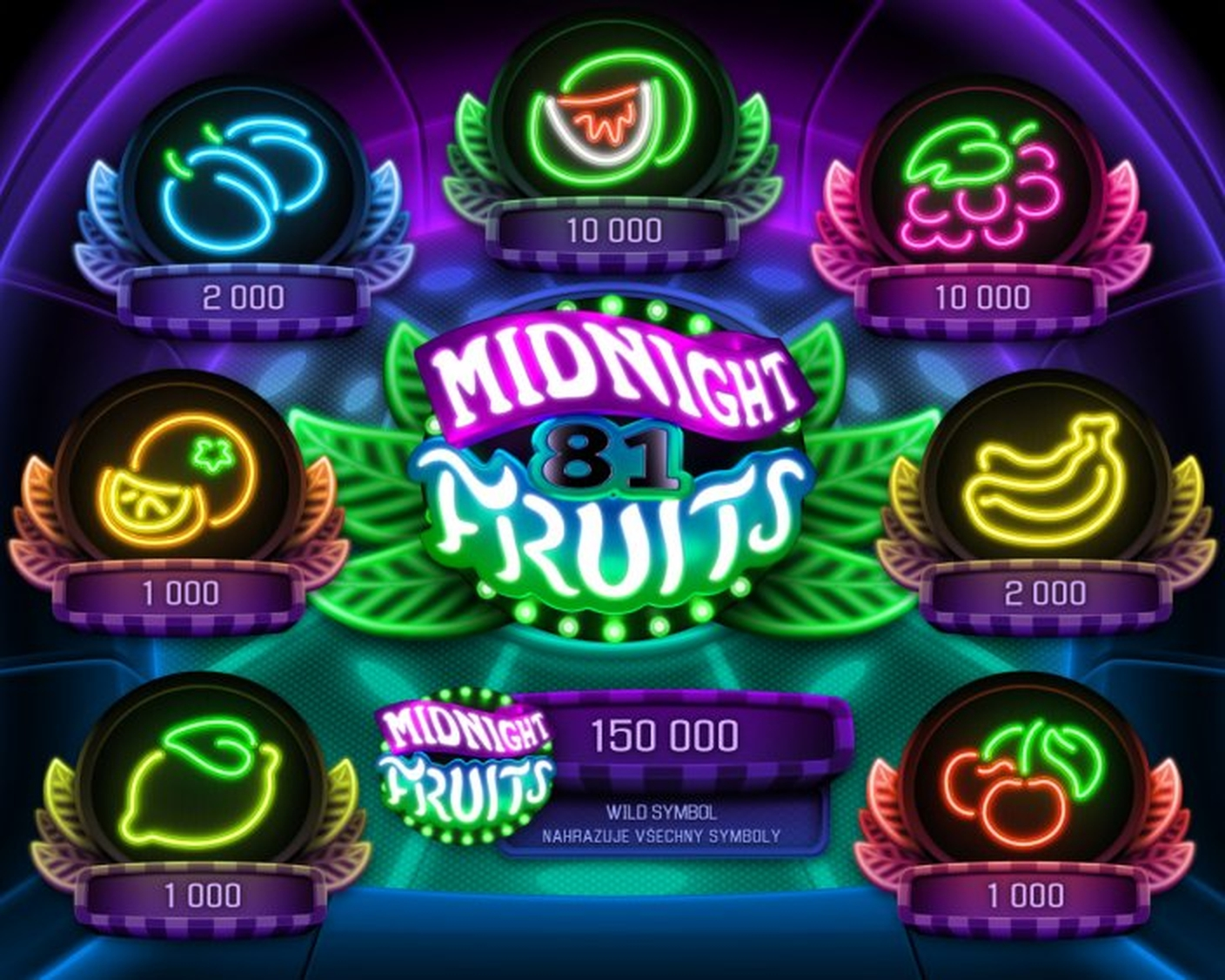 Midnight Fruits Online Slot Demo Game by Apollo Games