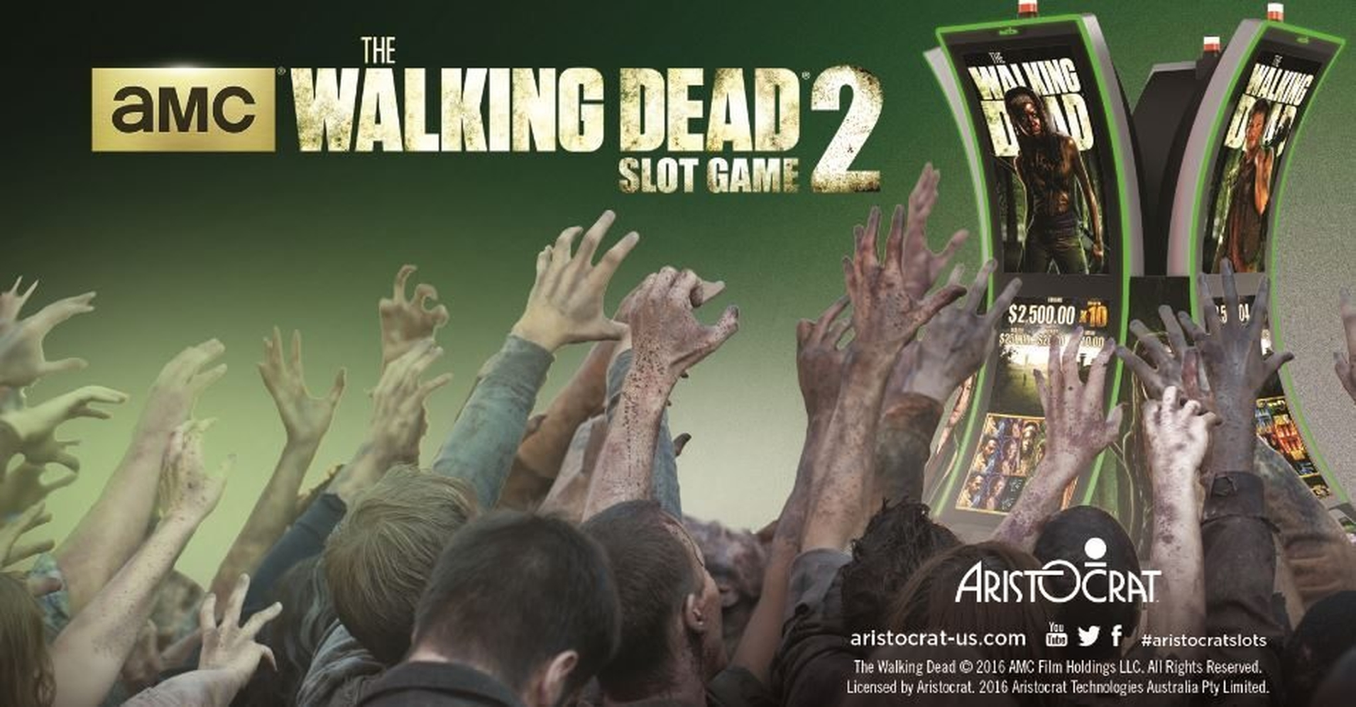 The The Walking Dead 2 Online Slot Demo Game by Aristocrat