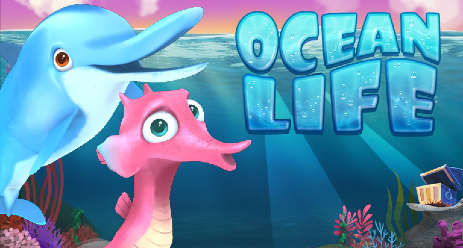 Ocean Life Online Slot Demo Game by Arrows Edge
