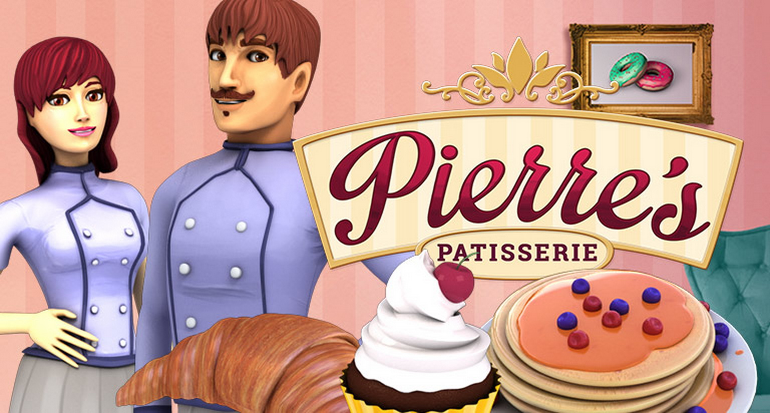Pierre's Patisserie Online Slot Demo Game by Arrows Edge