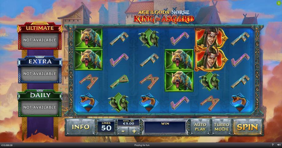 Valhalla Free Play Slot Machine