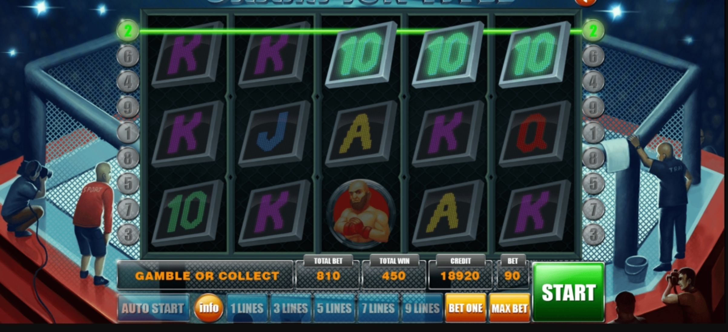 Champion Title Online Slot Demo Game by Aspect Gaming