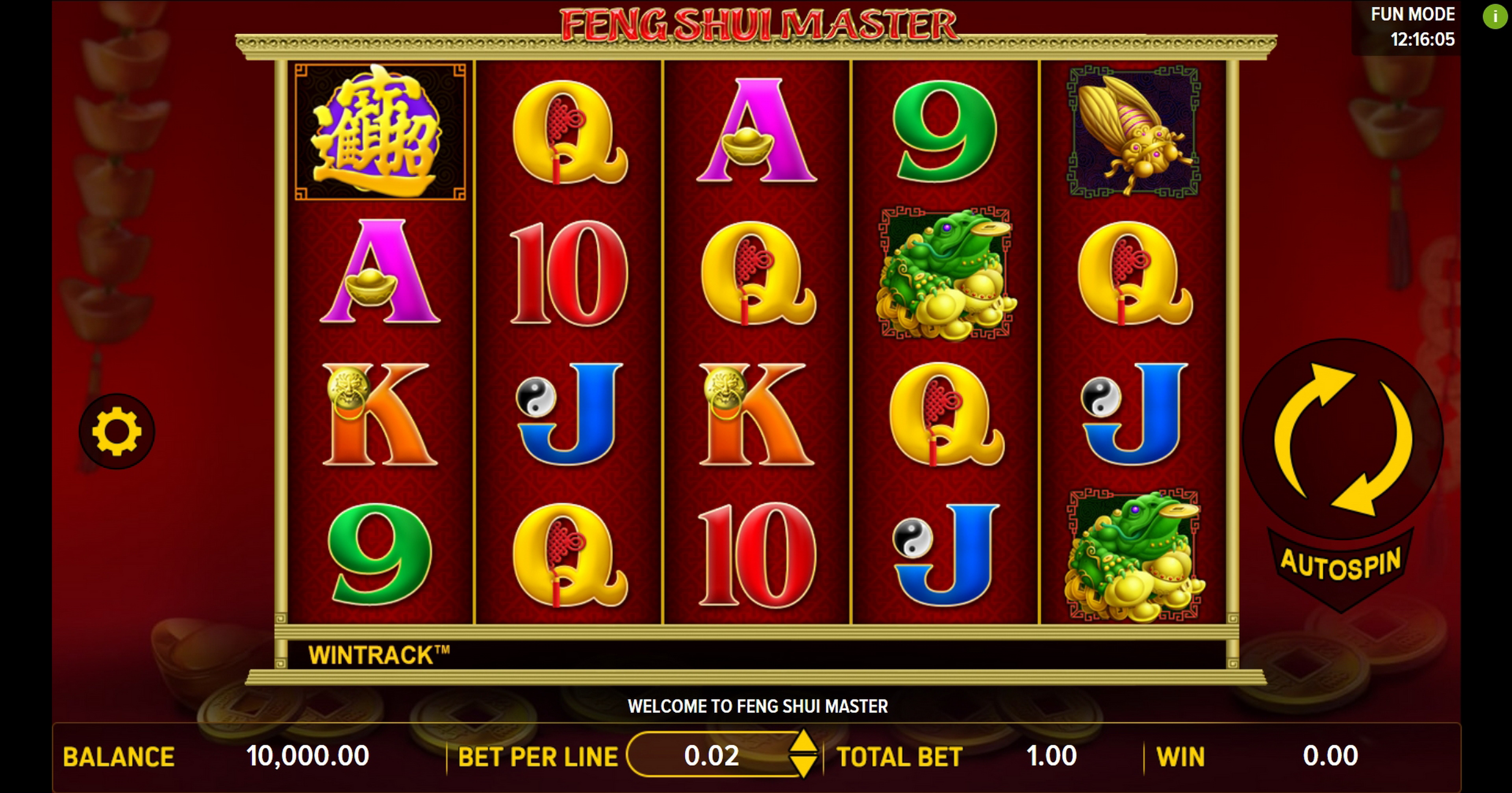 Reels in Feng Shui Master (Aspect Gaming) Slot Game by Aspect Gaming