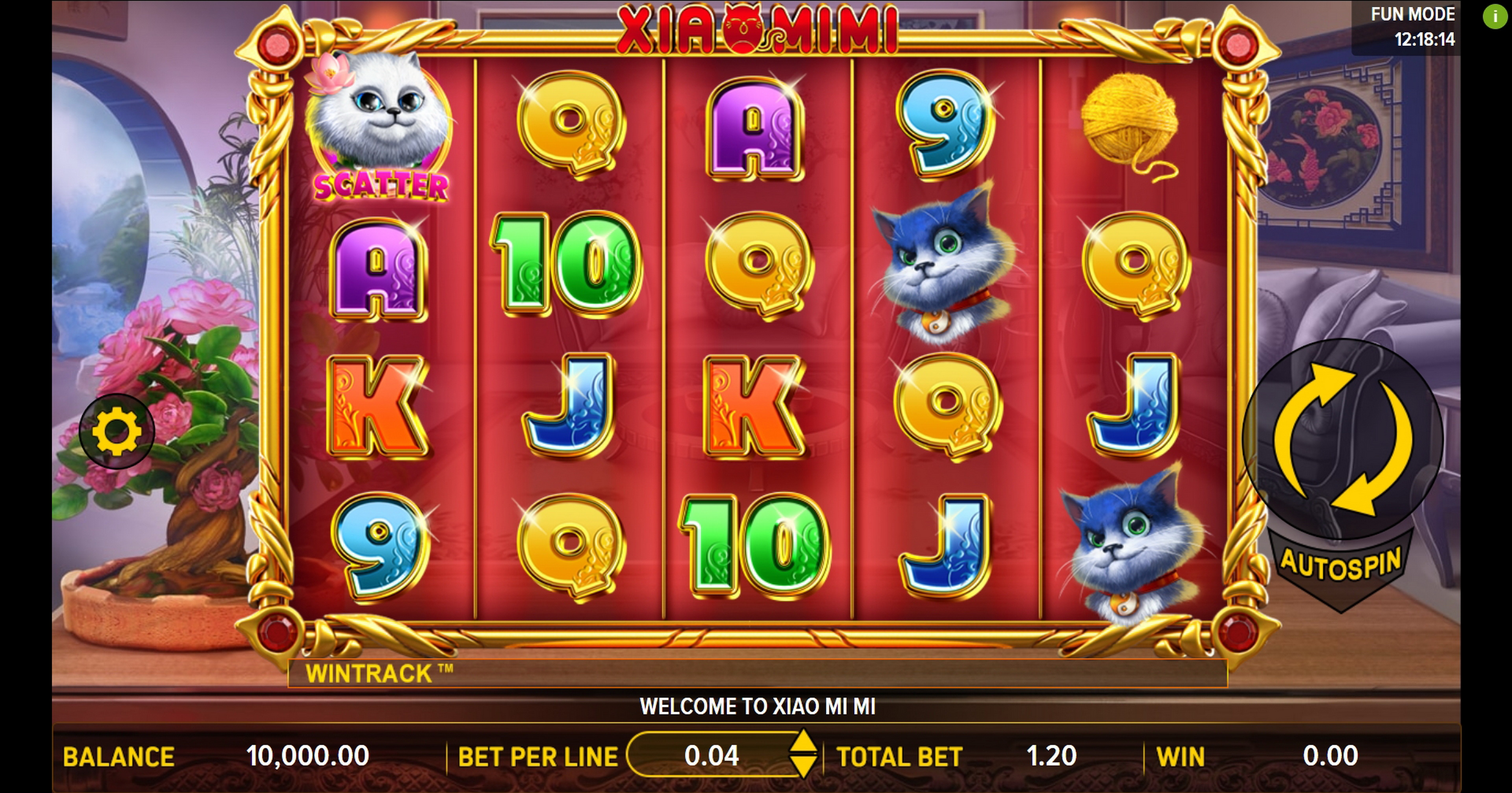 Reels in Xiao Mi Mi Slot Game by Aspect Gaming