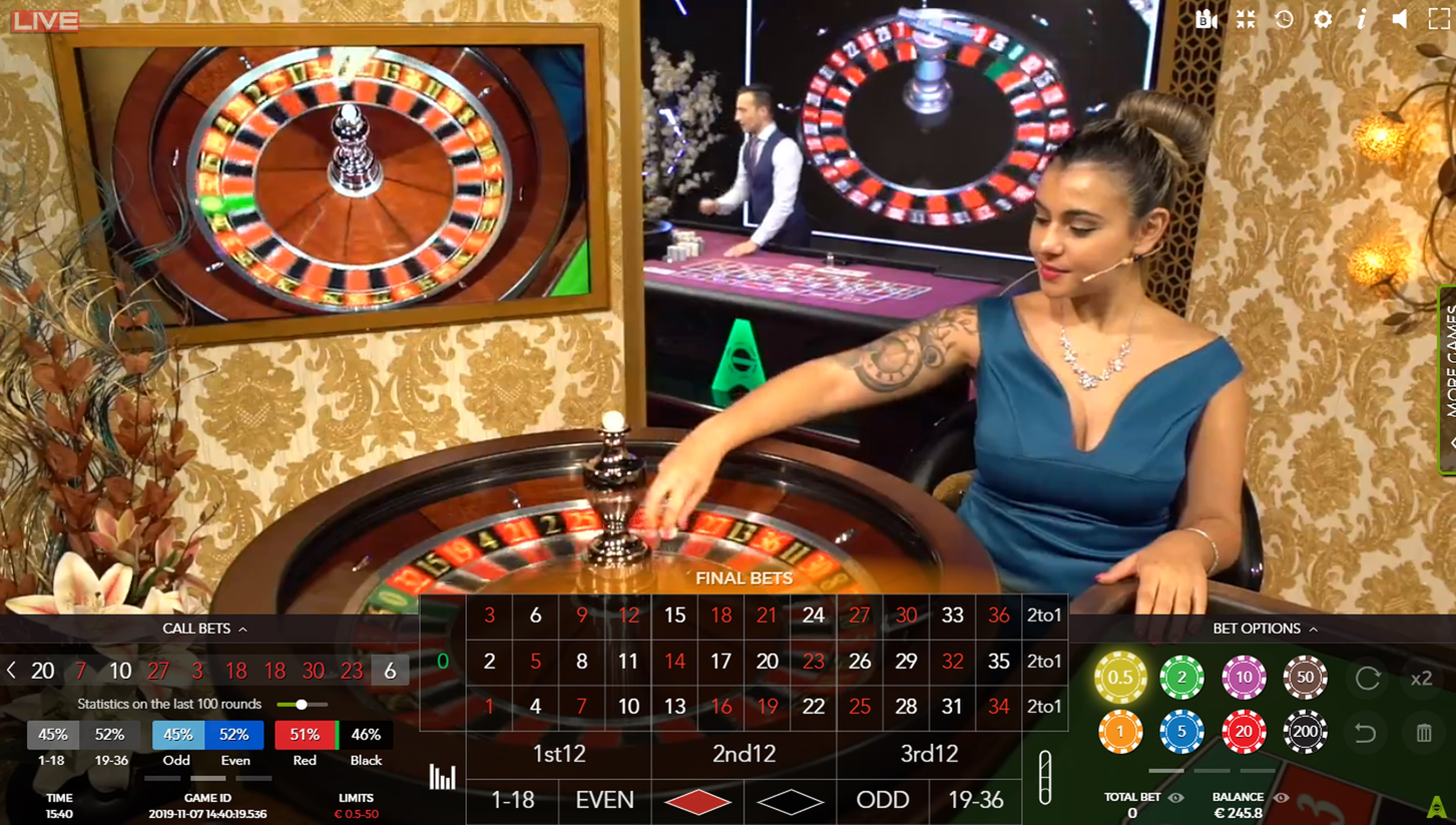 Casino Floor Studio Online Slot Demo Game by Authentic Gaming
