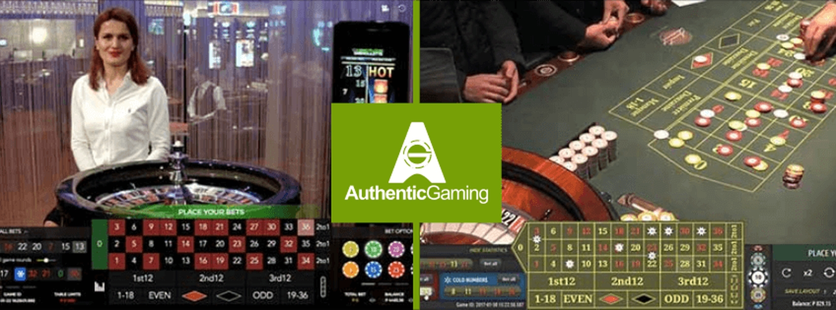 Live Roulette DUO Saint Vincent Online Slot Demo Game by Authentic Gaming