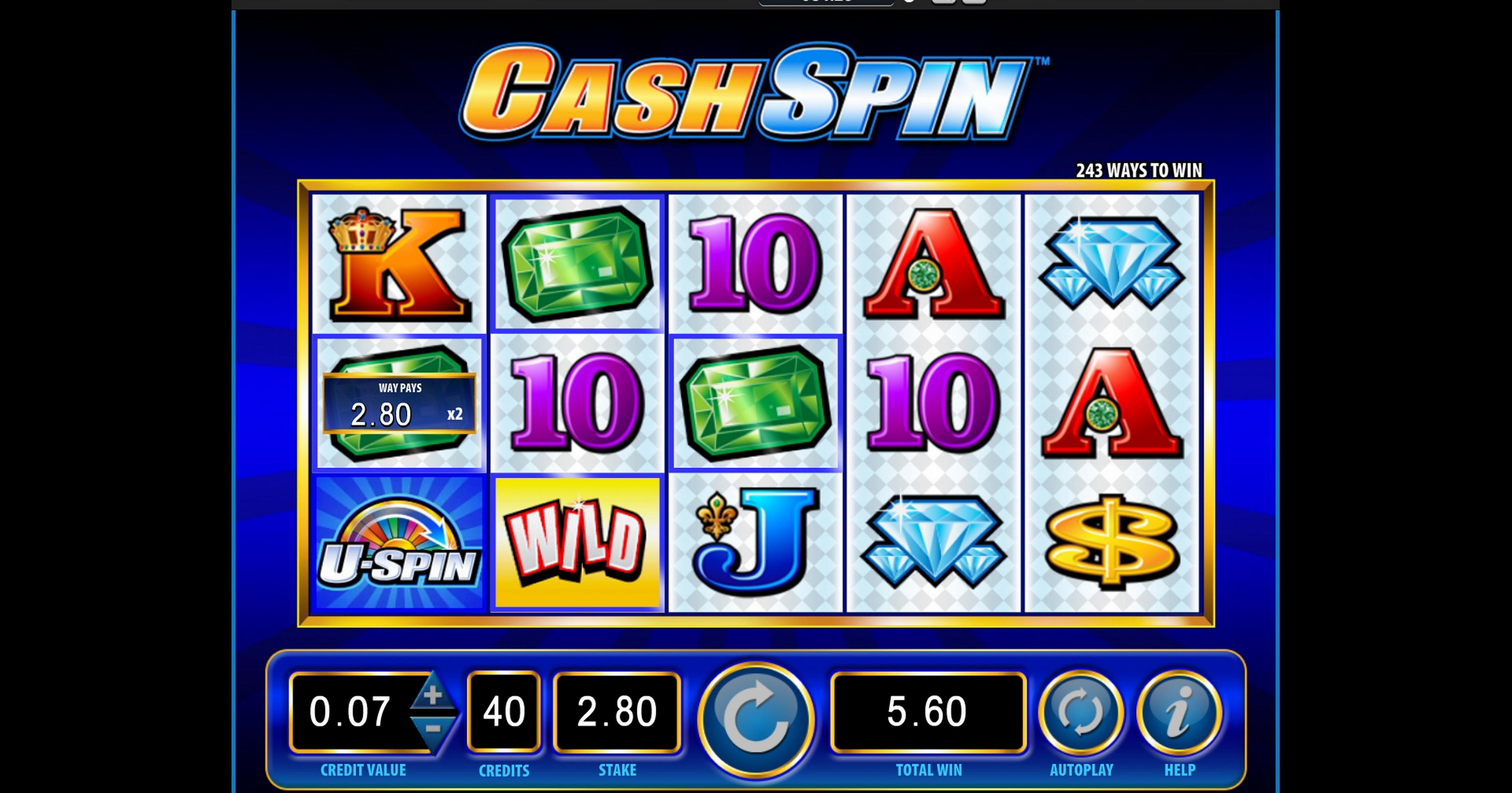 Flash Cash Slot Machine