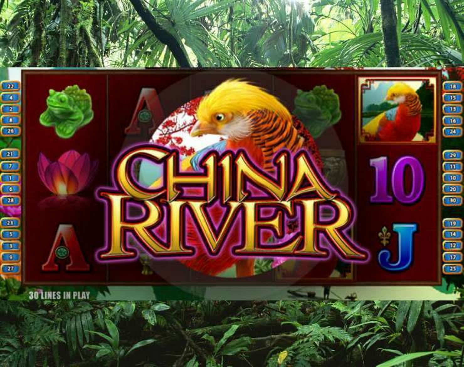 China River Online Slot Demo Game by Bally Technologies