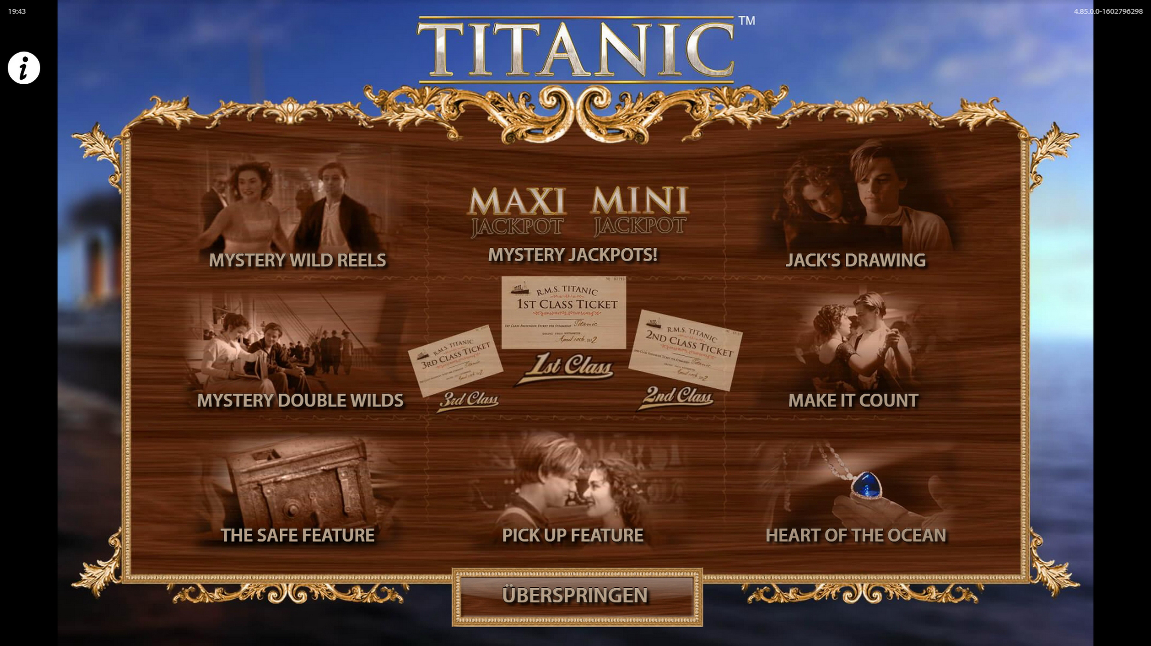Play TITANIC Free Casino Slot Game by Bally