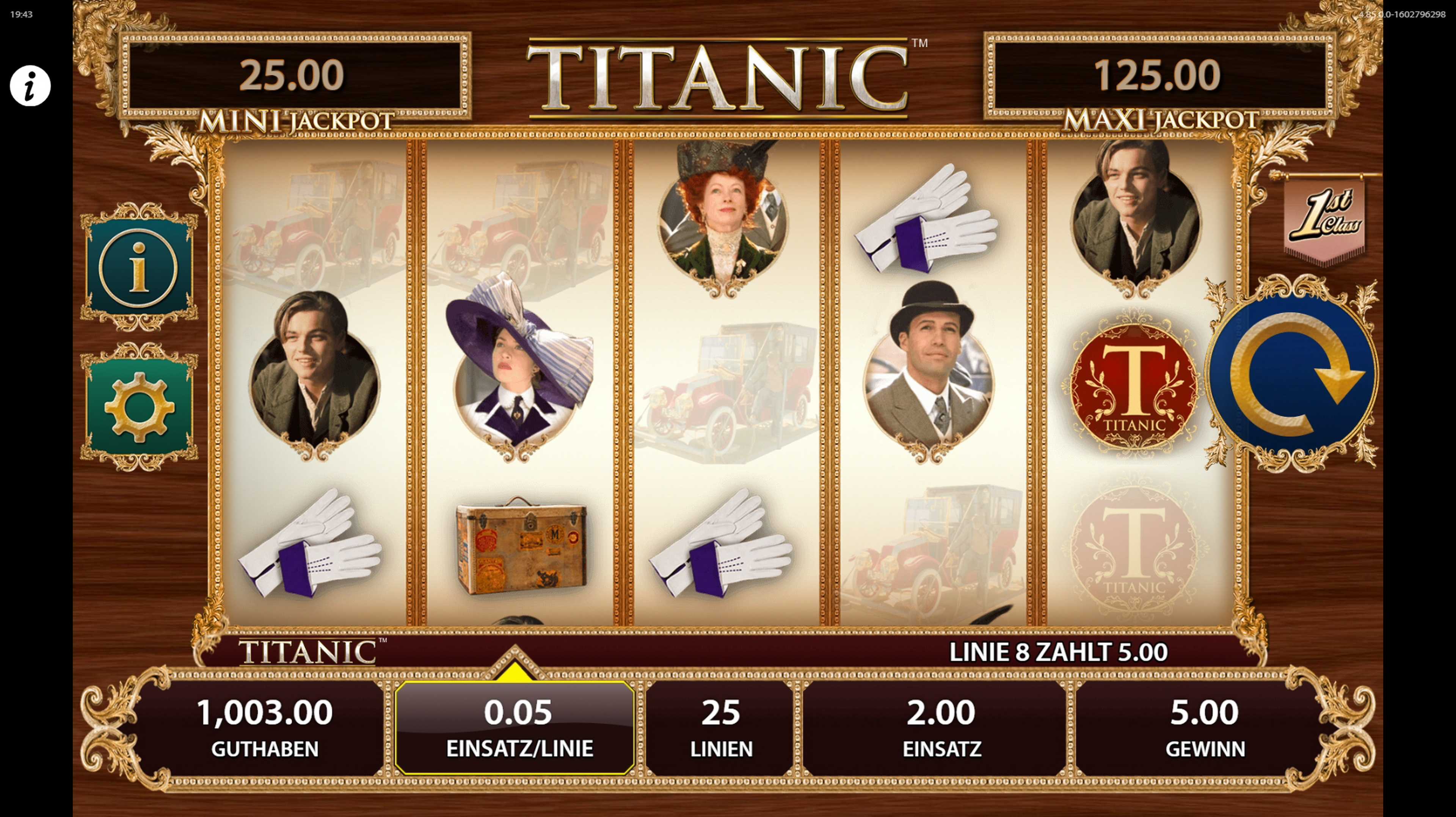 Win Money in TITANIC Free Slot Game by Bally