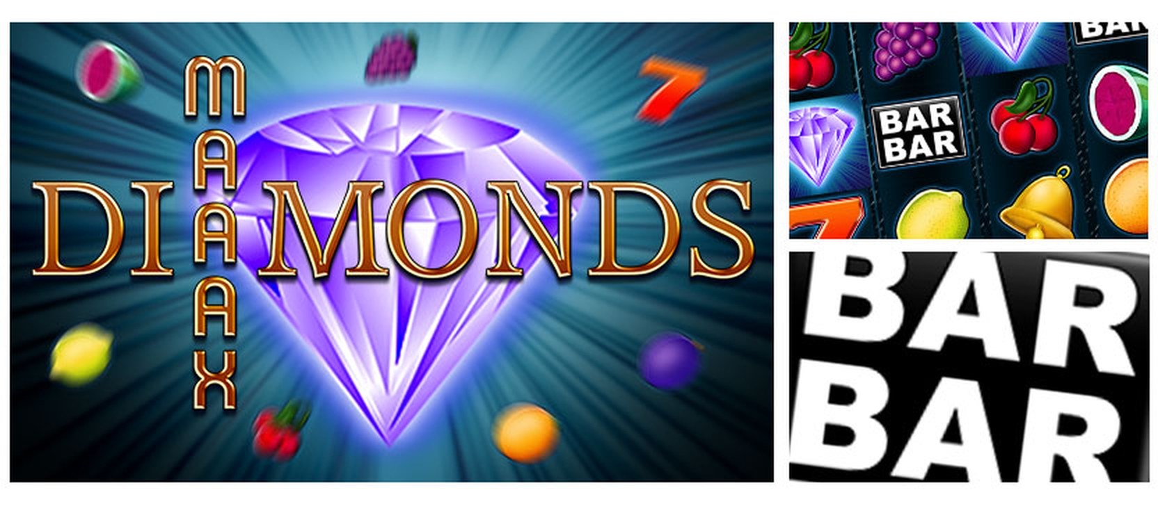 The Maaax Diamonds Online Slot Demo Game by Bally Wulff