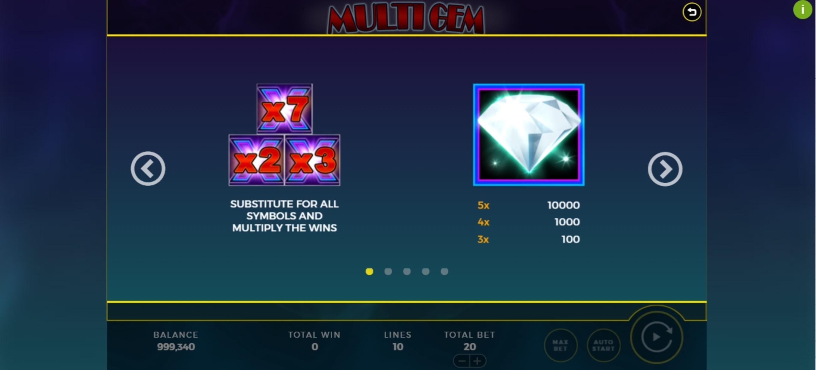 Multi Slots Demo Play