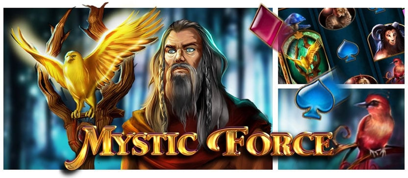 The Mystic Force Online Slot Demo Game by Bally Wulff