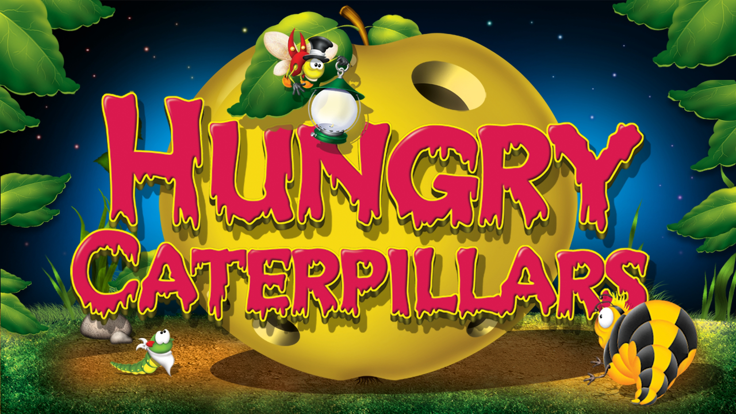 Hungry Caterpillars Online Slot Demo Game by Belatra Games