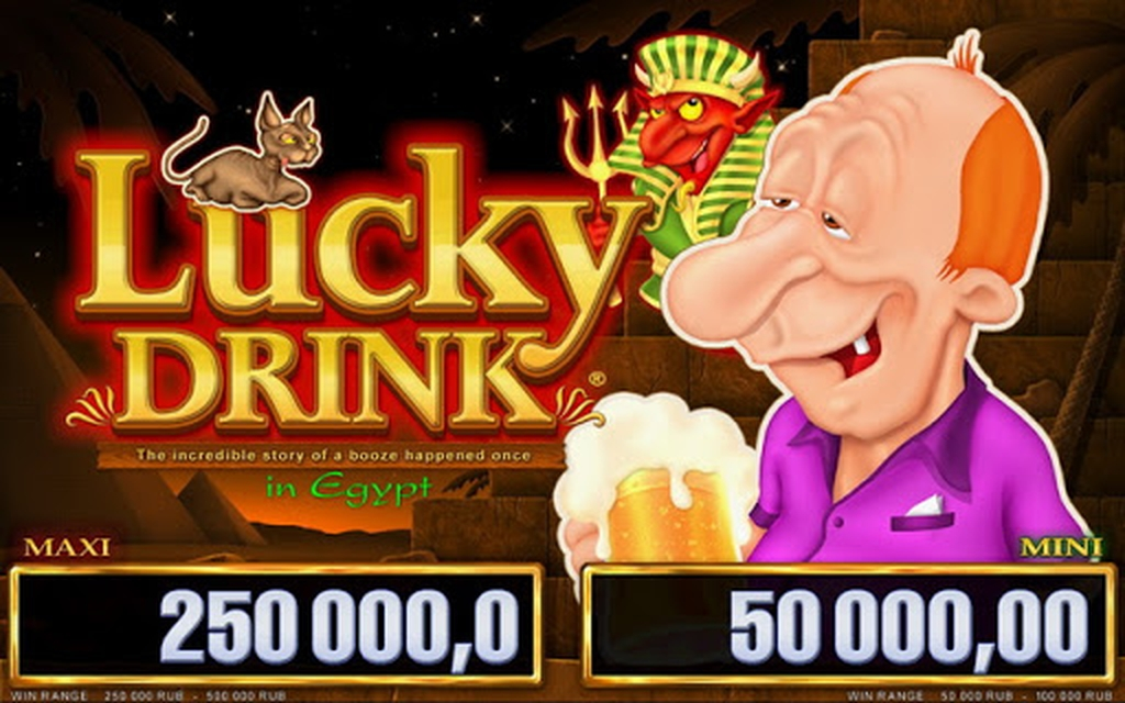 Lucky Drink in Egypt Online Slot Demo Game by Belatra Games