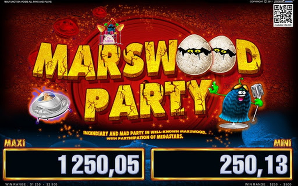 Marswood Party 2 Online Slot Demo Game by Belatra Games