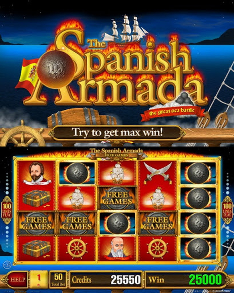 The Spanish Armada Luxe Online Slot Demo Game by Belatra Games