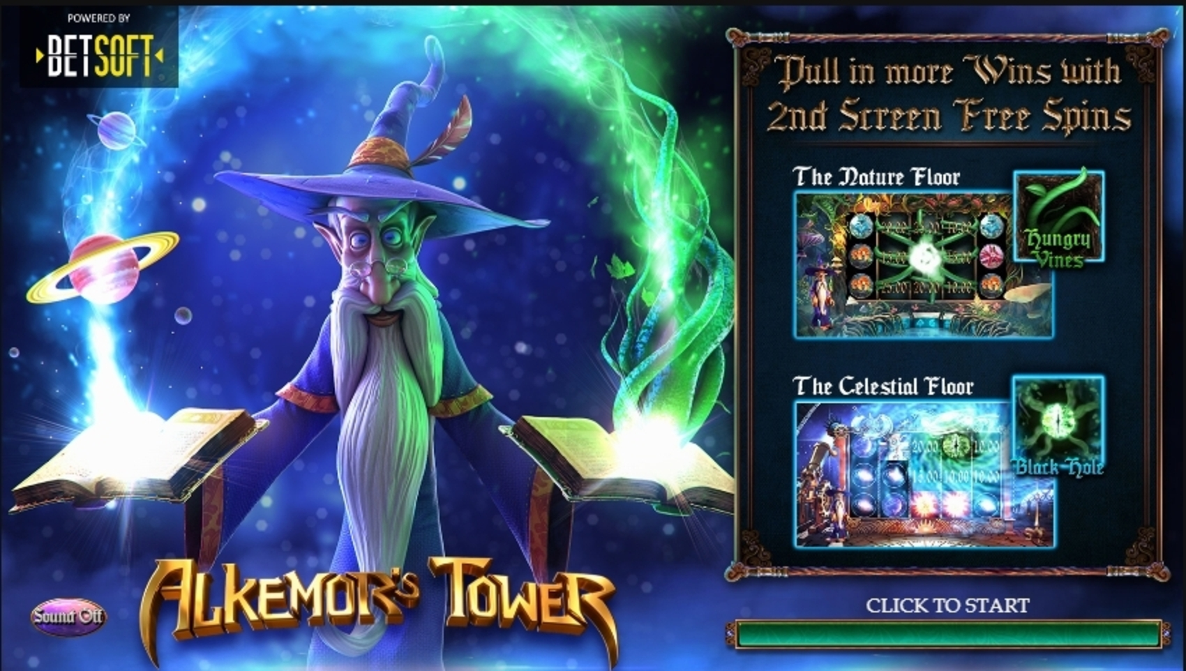 Play Alkemors Tower Free Casino Slot Game by Betsoft