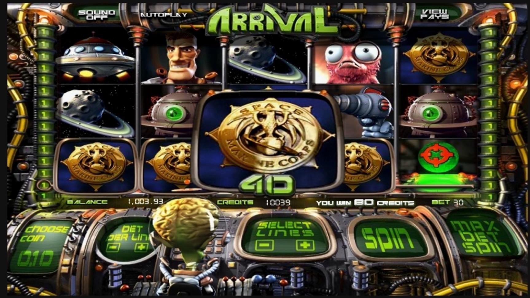Arrival Slot Machine