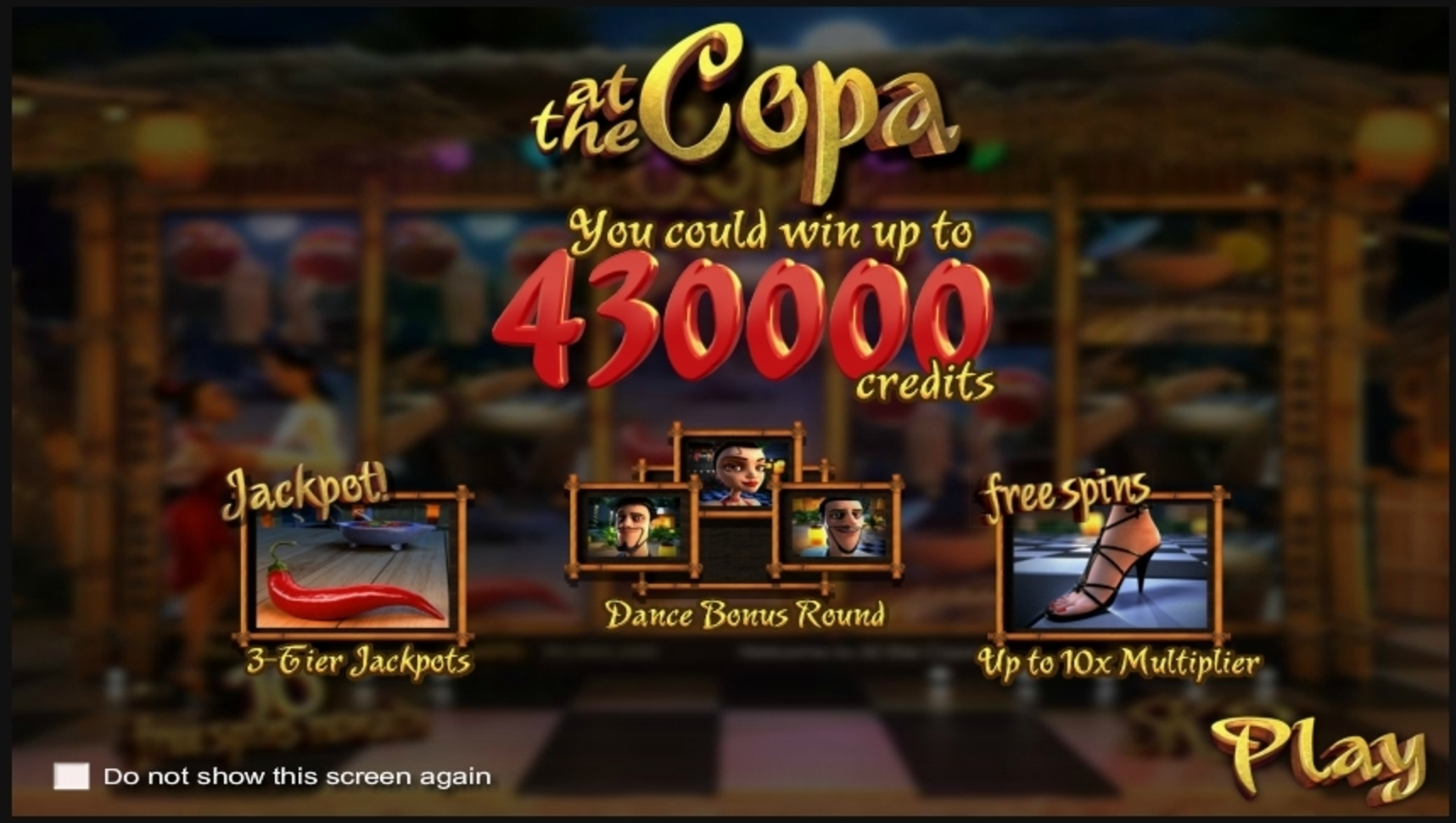 Play At the Copa Free Casino Slot Game by Betsoft