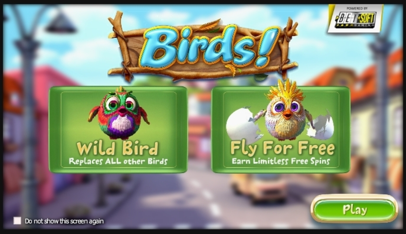 Play Birds! Free Casino Slot Game by Betsoft