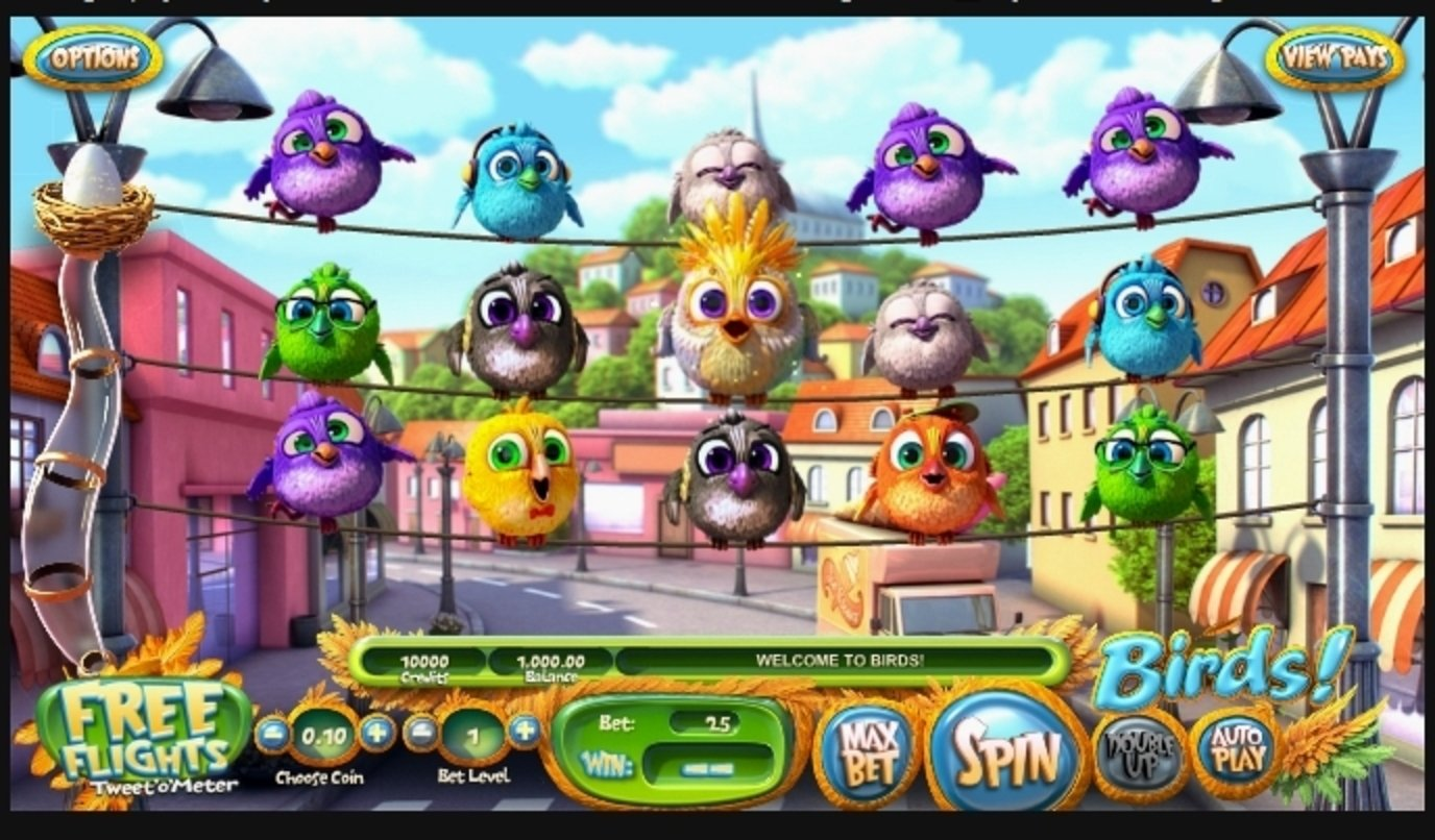 Reels in Birds! Slot Game by Betsoft