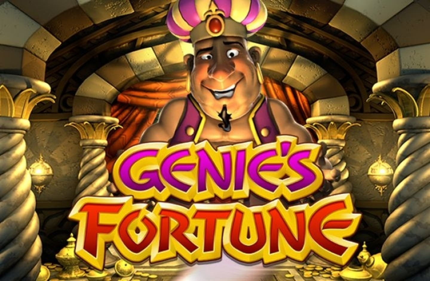 Genie's Fortune Online Slot Demo Game by Betsoft