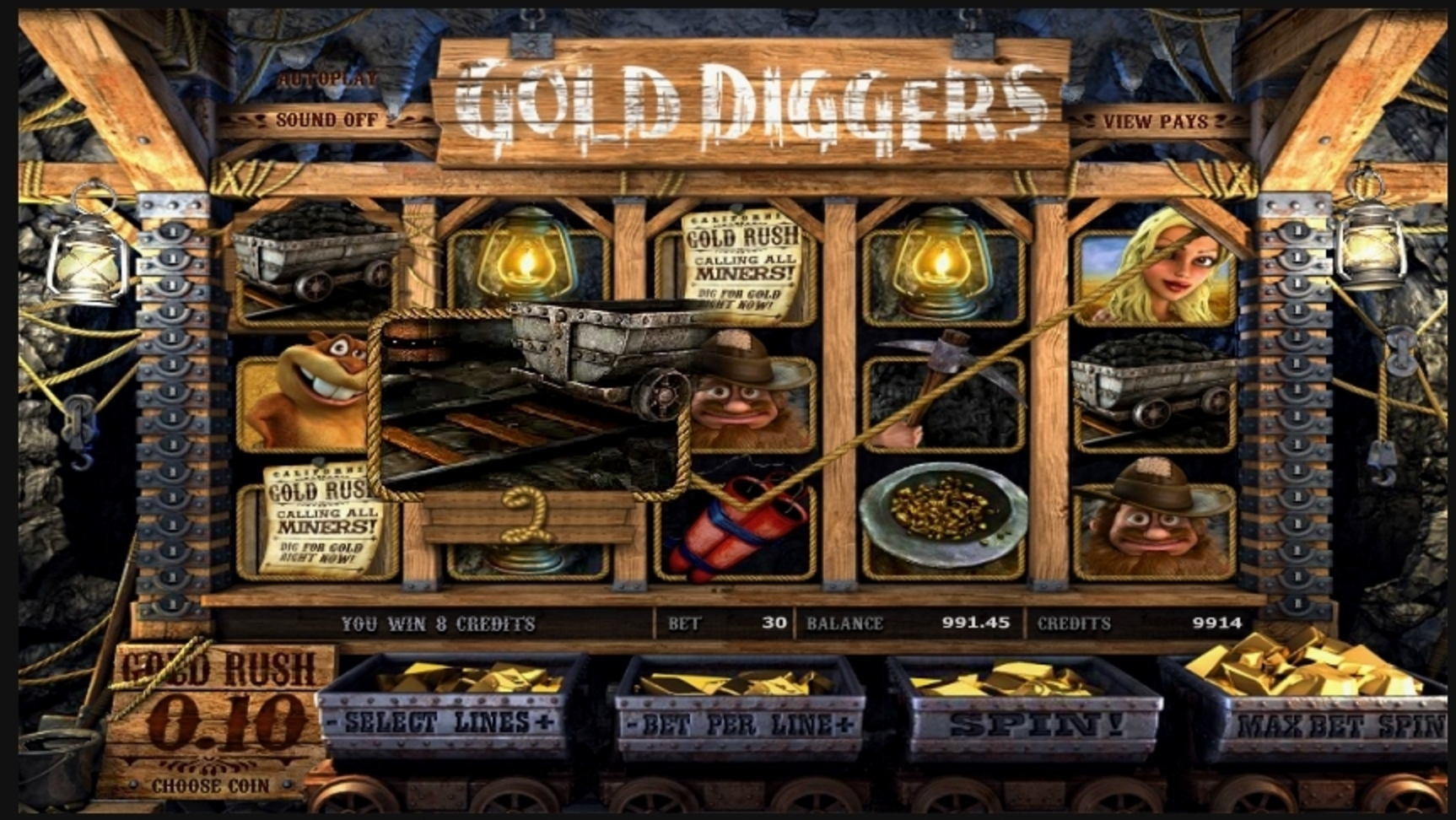 More Gold Diggin Slot No Download