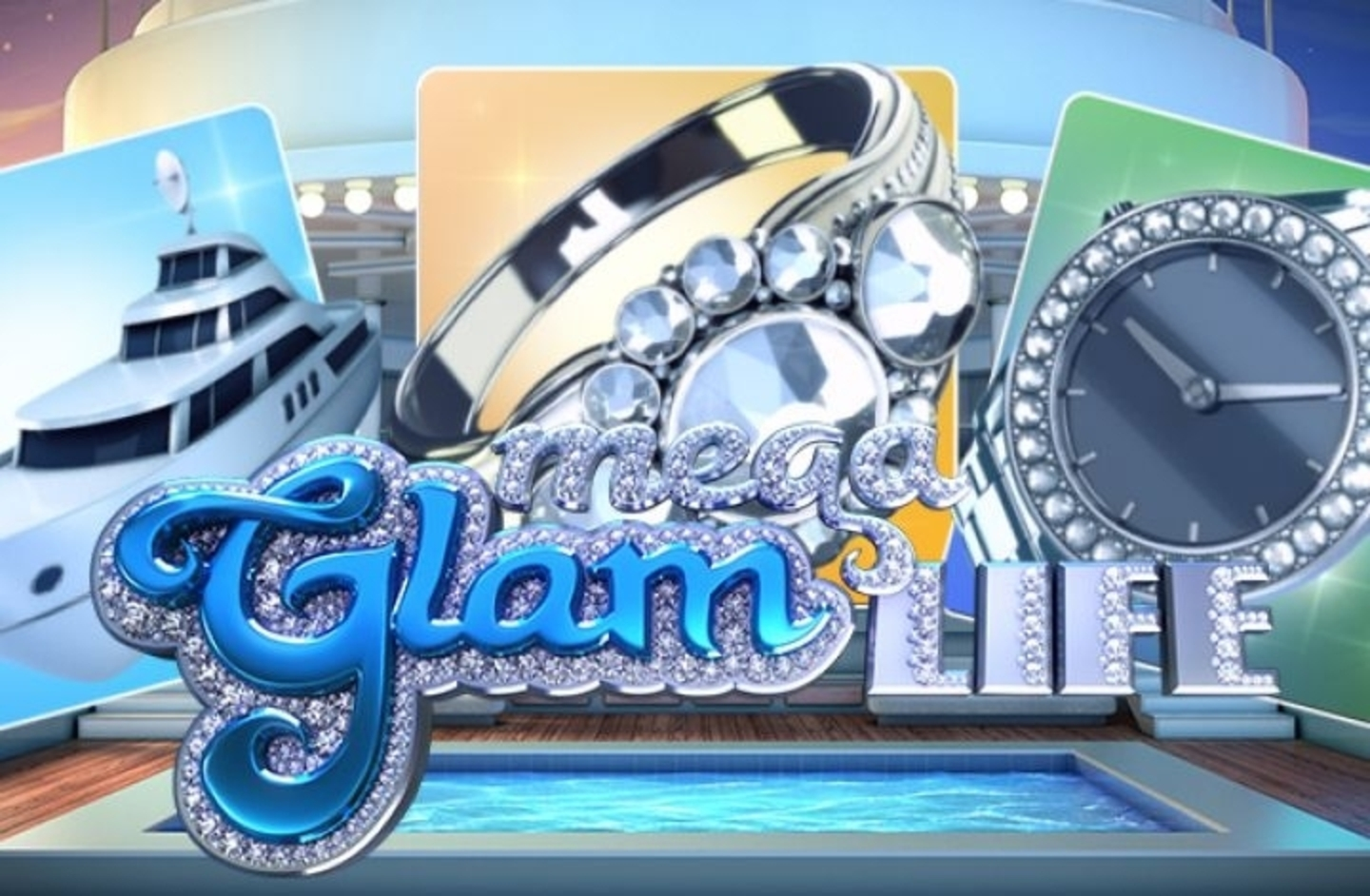 Mega Glam Life Online Slot Demo Game by Betsoft