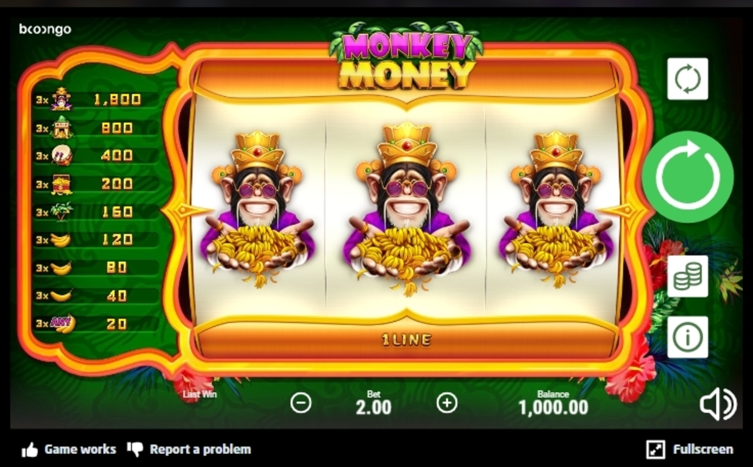 Reels in Monkey Money (Betsoft) Slot Game by Betsoft
