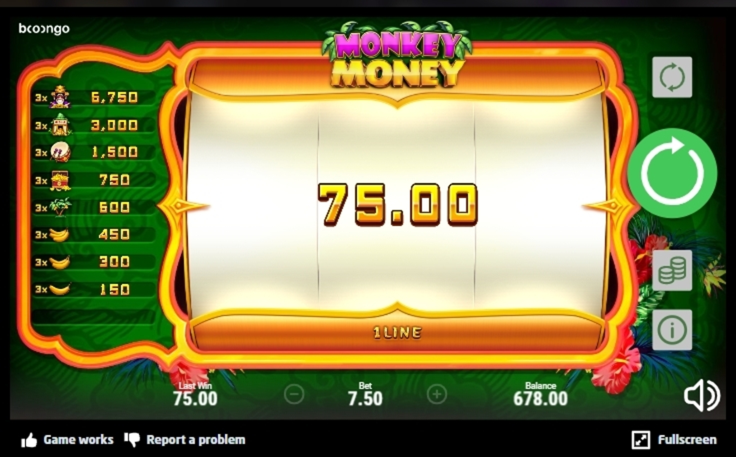 Win Money in Monkey Money (Betsoft) Free Slot Game by Betsoft