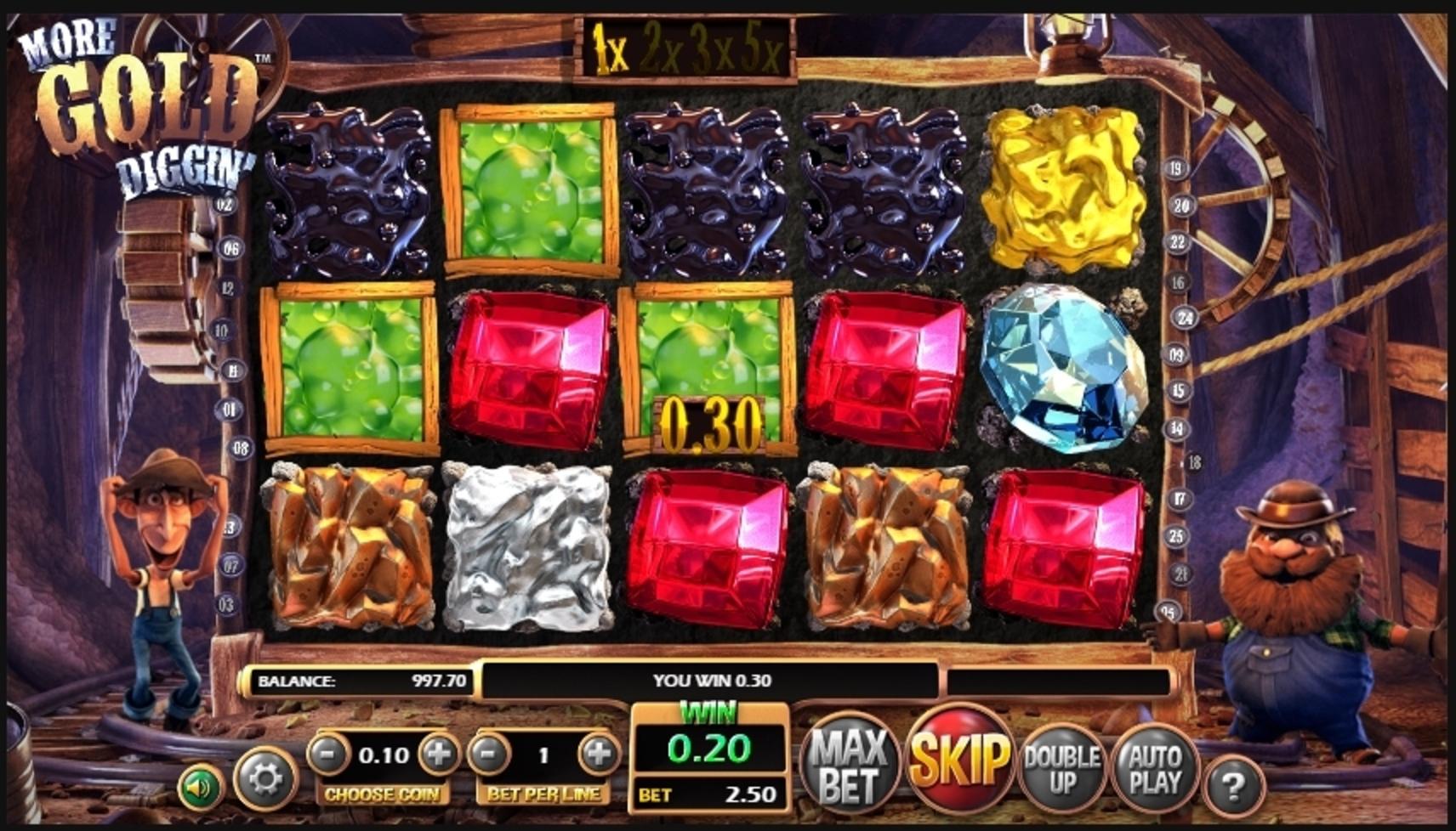 More Gold Diggin Slot Machine