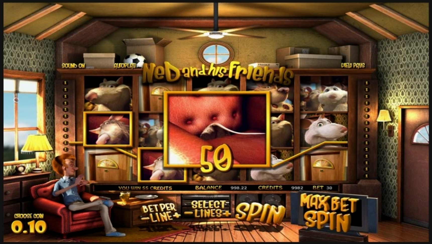 Win Money in Ned and His Friends Free Slot Game by Betsoft