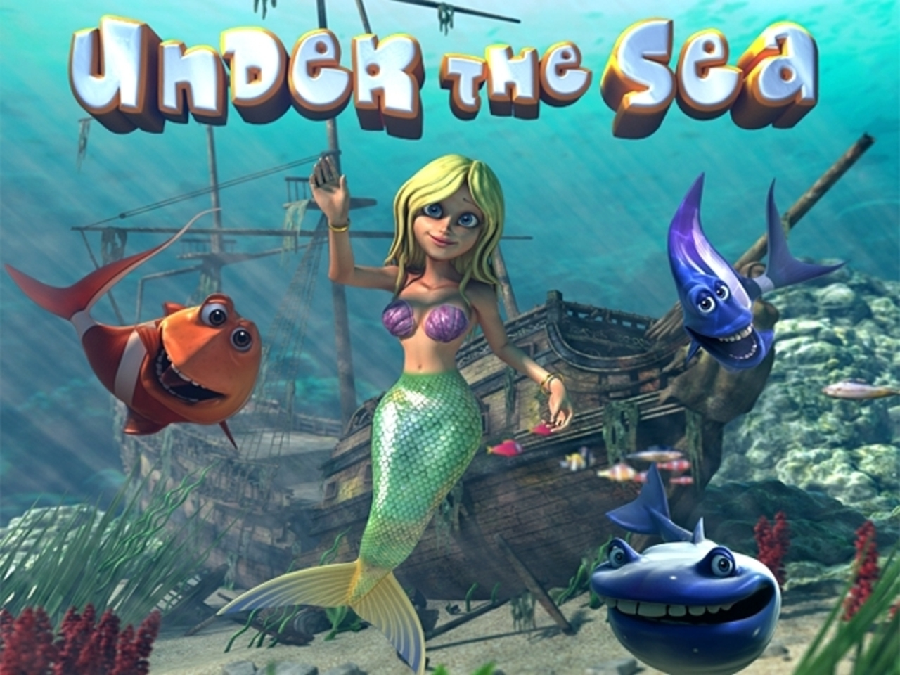 The Under the Sea (Betsoft) Online Slot Demo Game by Betsoft
