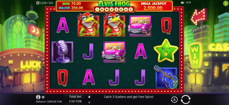 Elvis Slot Machine Online