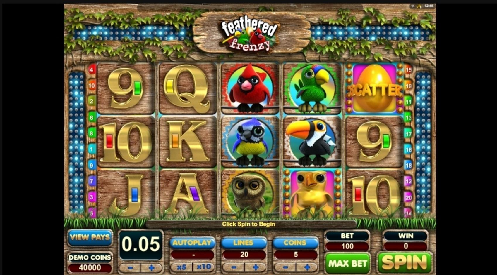 Feathered Frenzy Slot Machine