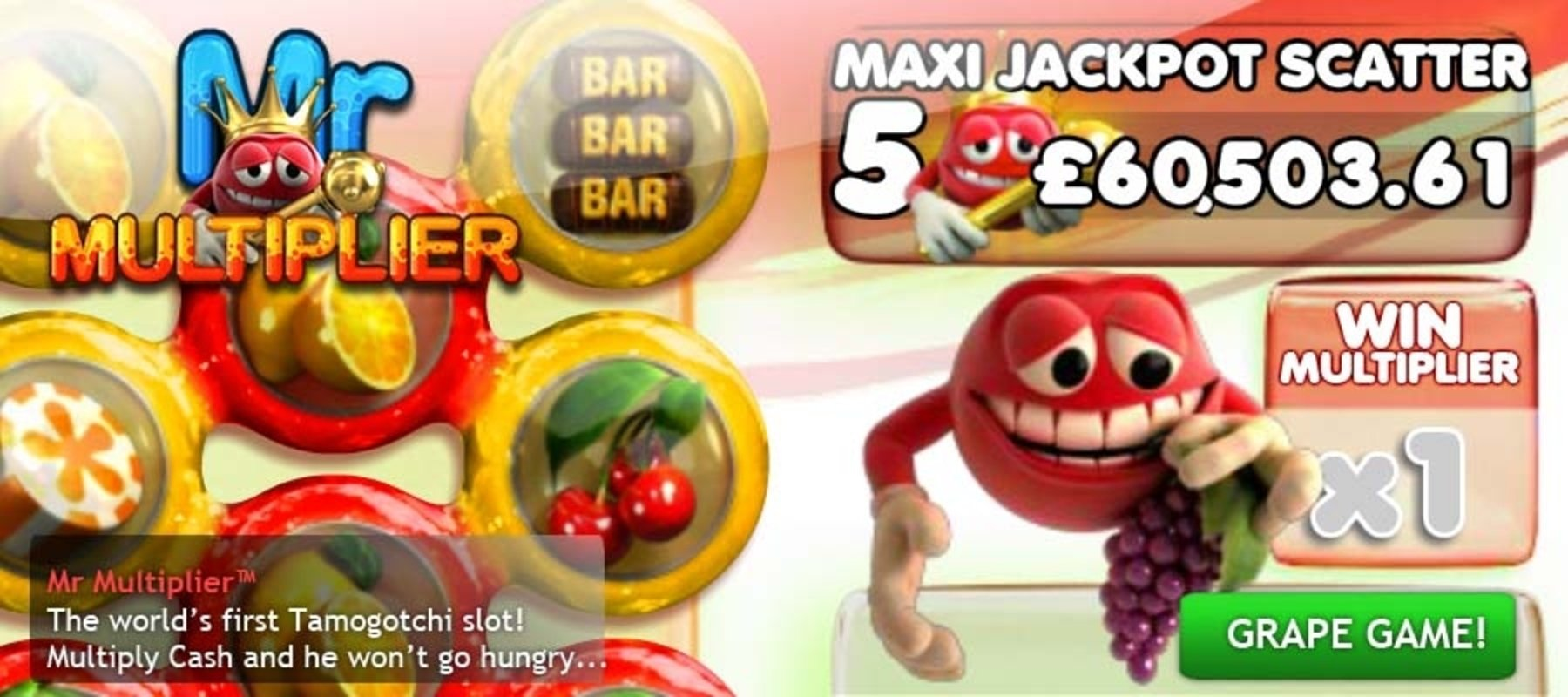 Mr Multiplier Online Slot Demo Game by Big Time Gaming