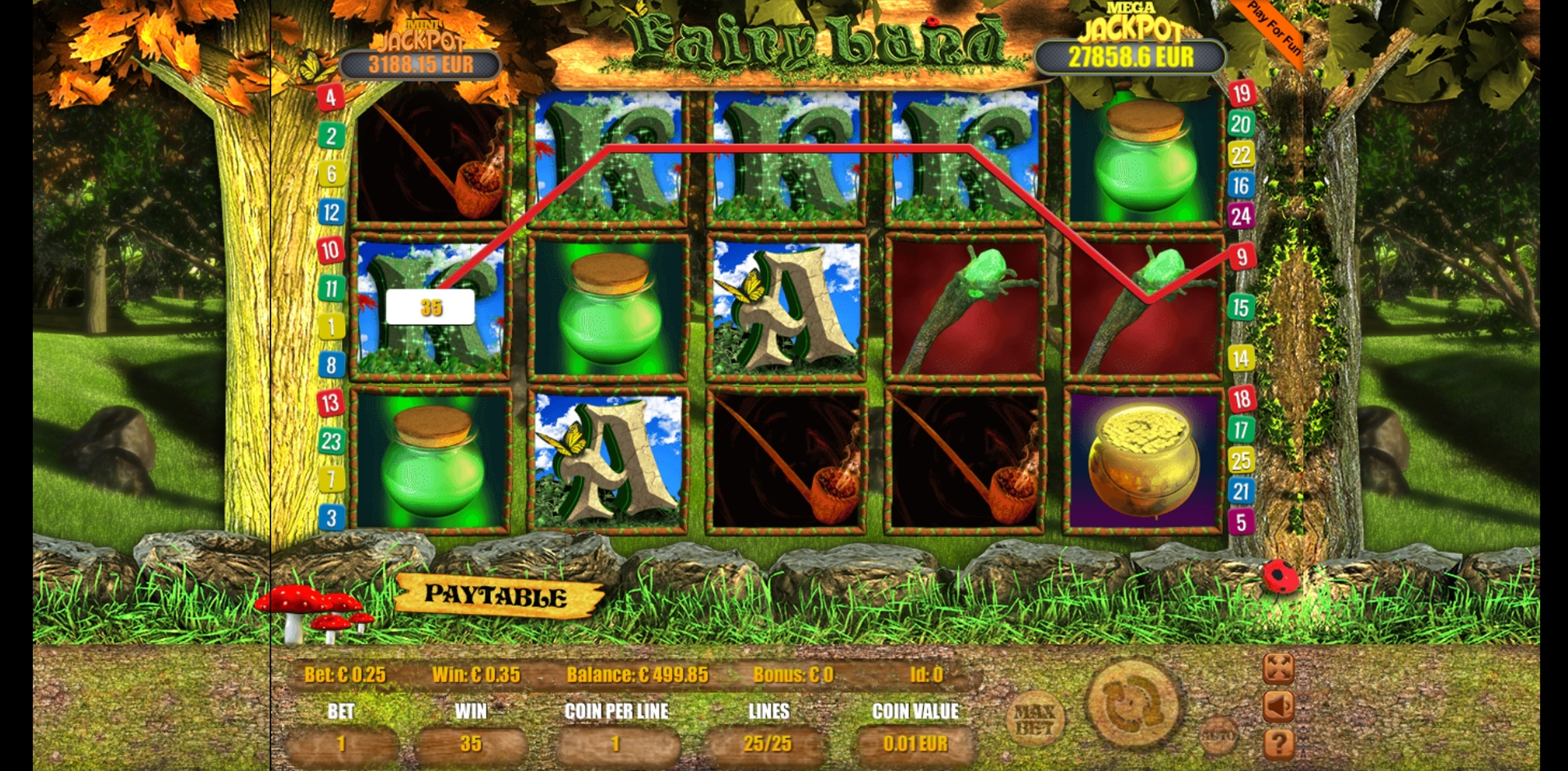 Win Money in Fairyland Free Slot Game by bluberi