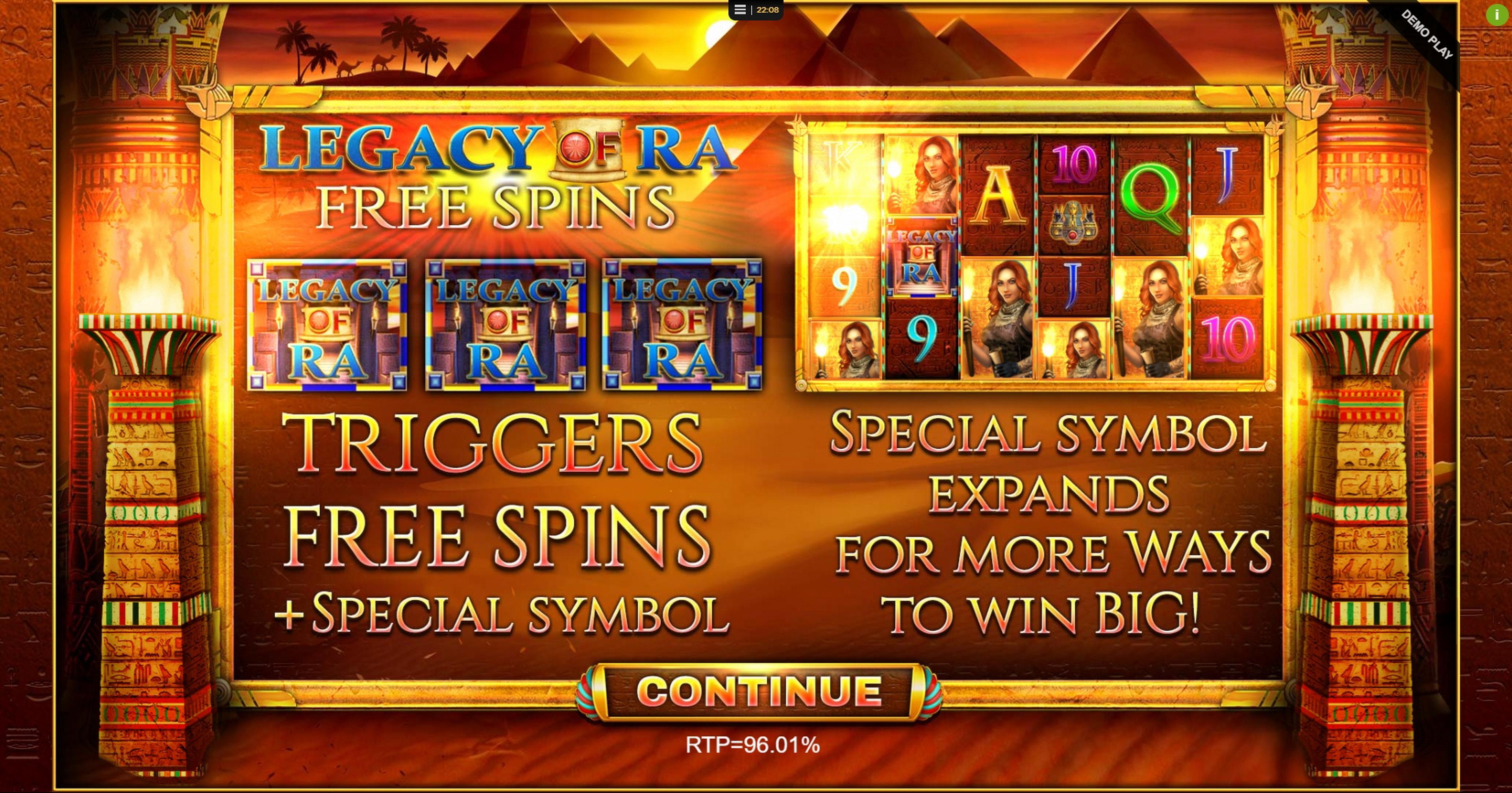 Golden Legacy Slot Machine