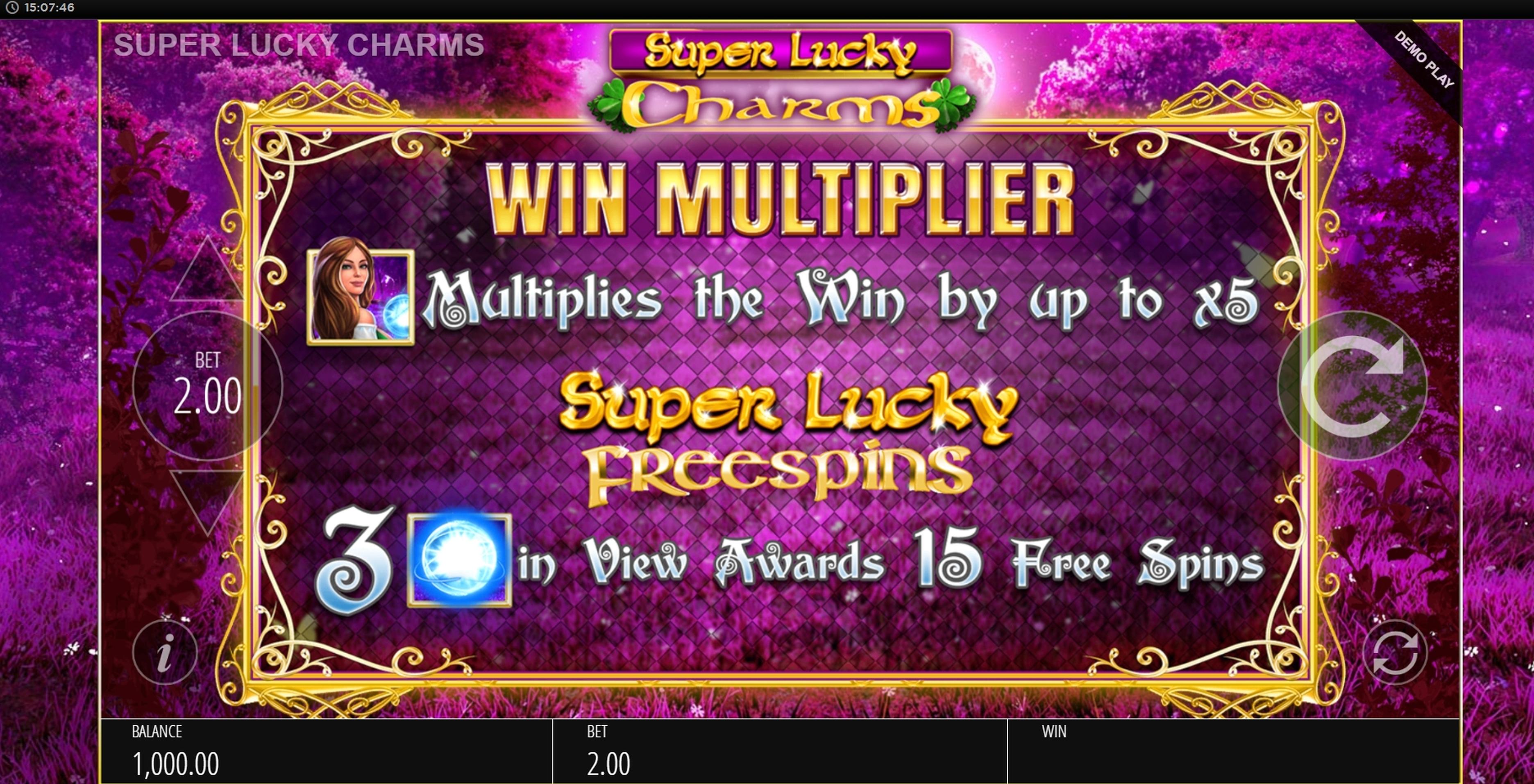 Free Super Multiplier Slots