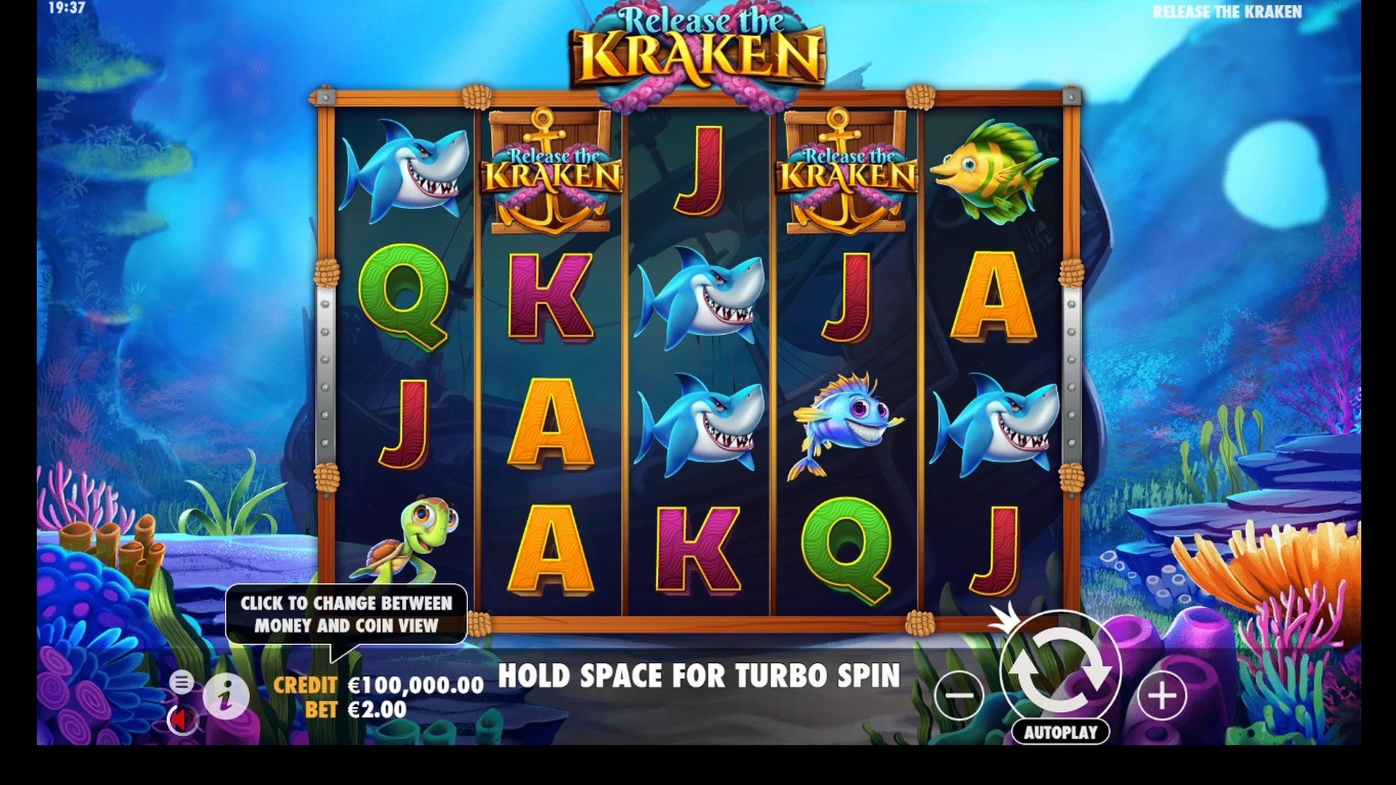 Play The No Download Demo Of Eye Of The Kraken Slot Machine