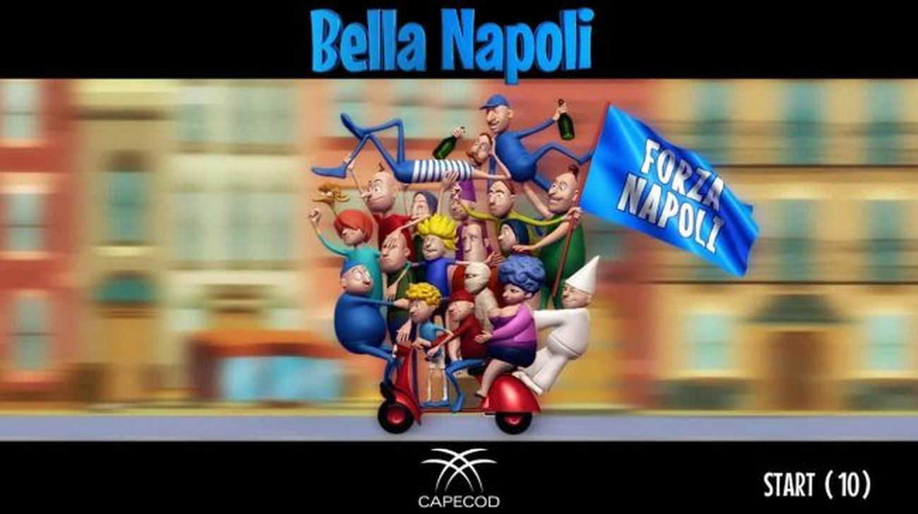 The Bella Napoli Online Slot Demo Game by Capecod Gaming