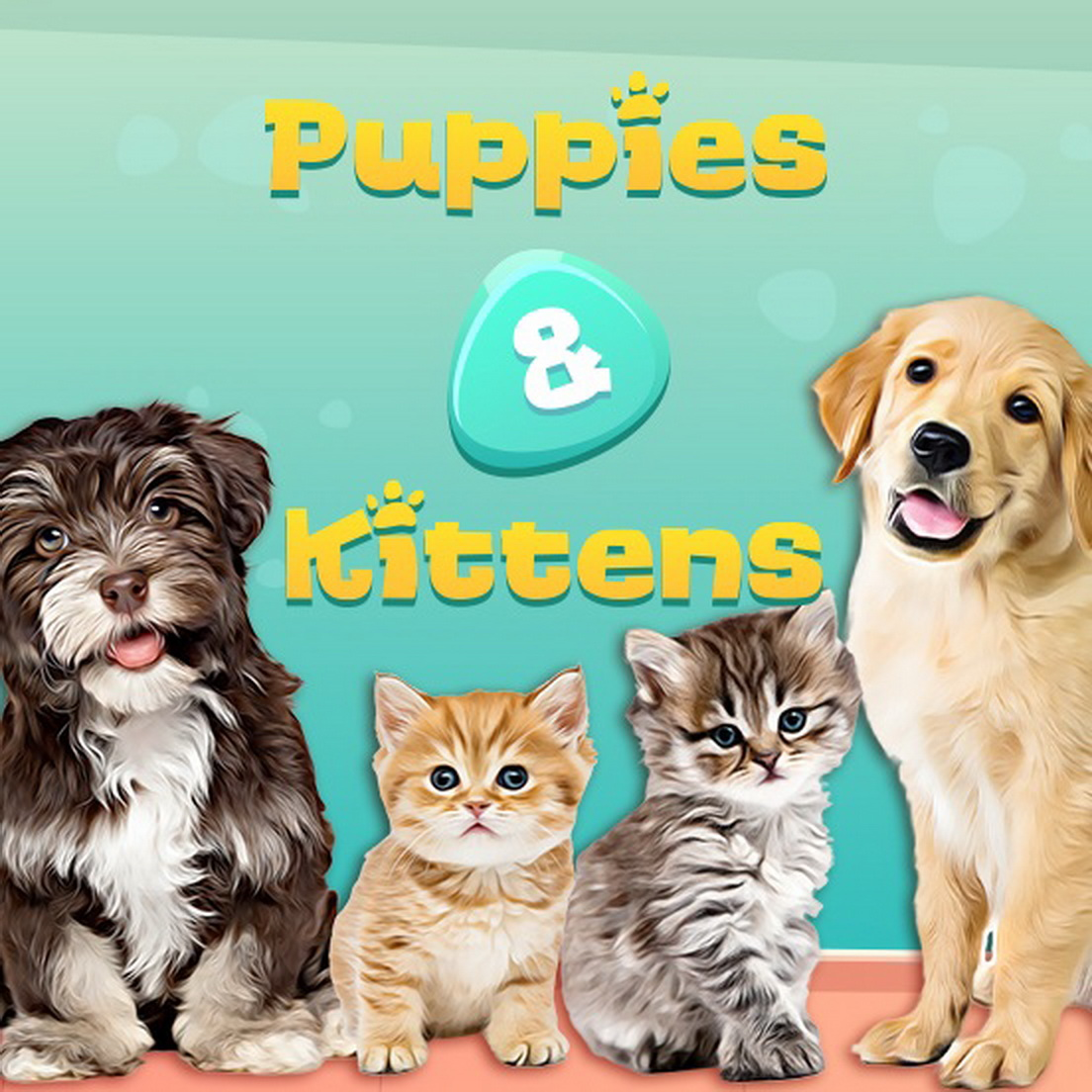 The Puppies and Kittens Online Slot Demo Game by Capecod Gaming