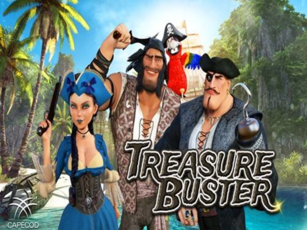 The Treasure Buster Online Slot Demo Game by Capecod Gaming