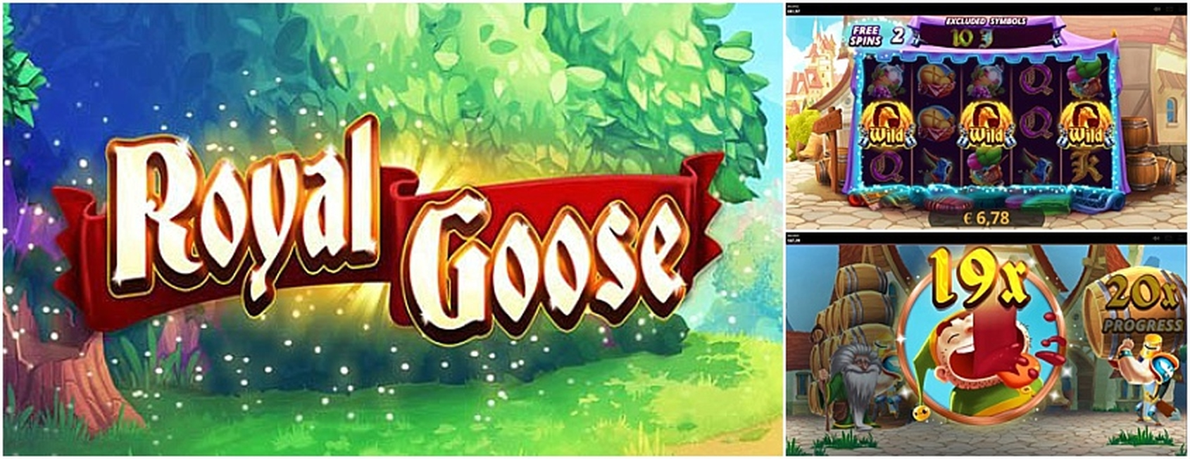 Royal Goose Online Slot Demo Game by Cayetano Gaming