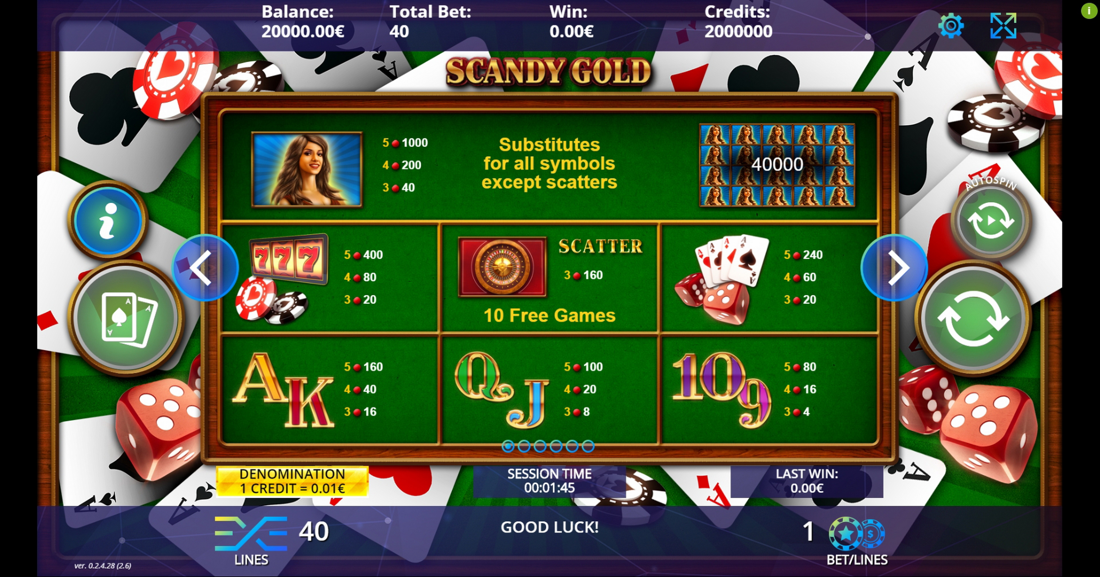 Slot Game Gold For Free Demo